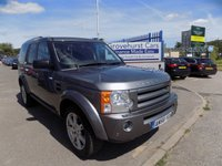 2008 LAND ROVER DISCOVERY 2.7 3 TDV6 HSE 5d AUTO 188 BHP £10000.00