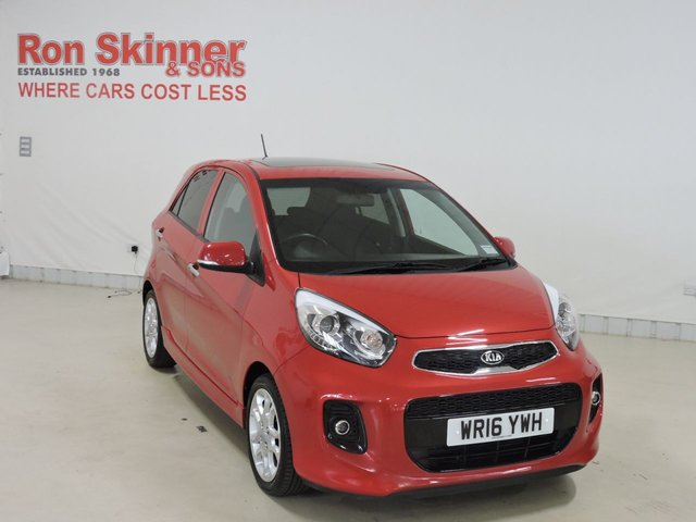View our 2016 16 KIA PICANTO 1.2 4 ISG 5d 84 BHP