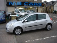 2010 RENAULT CLIO 1.1 I-MUSIC TCE 5d 100 BHP £3495.00