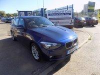 2012 BMW 1 SERIES 1.6 116I SE 5d 135 BHP £8495.00