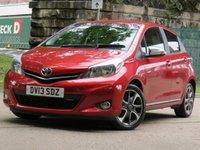2013 TOYOTA YARIS 1.3 VVT-I TREND 5d 98 BHP £5444.00