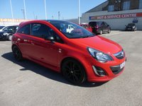 USED 2012 62 VAUXHALL CORSA 1.2 LIMITED EDITION 3d 83 BHP LOW MILES * MEDIA CONNECTION * BAD CREDIT * WE CAN HELP