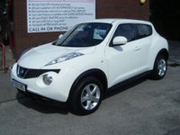 USED 2013 13 NISSAN JUKE 1.6 VISIA 5d 93 BHP **ZERO DEPOSIT FINANCE AVAILABLE** PART EXCHANGE WELCOME