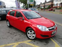 USED 2009 09 VAUXHALL ASTRA 1.4 ACTIVE 16V TWINPORT 5d 90 BHP Low Mileage & Nice Overall Condition