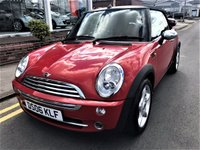 2006 MINI CONVERTIBLE 1.6 ONE 2d 89 BHP £2895.00