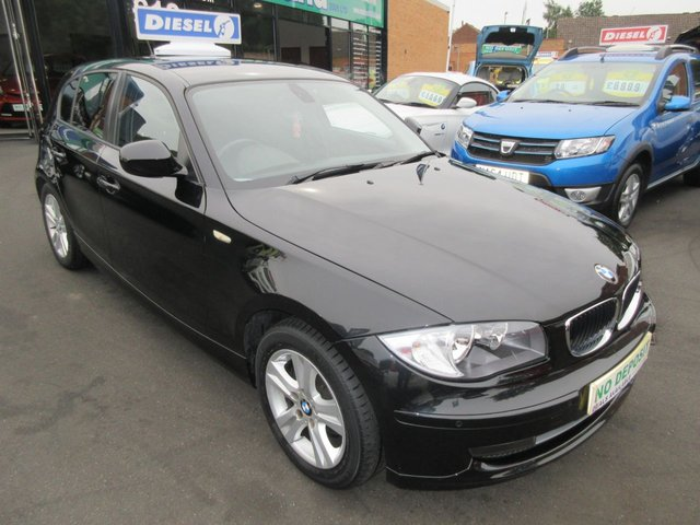 USED 2010 10 BMW 1 SERIES 2.0 118D SE 5d 141 BHP CALL 01543 379066... 12 MONTHS MOT... 6 MONTHS WARRANTY... DIESEL.. FINANCE AVAILABLE