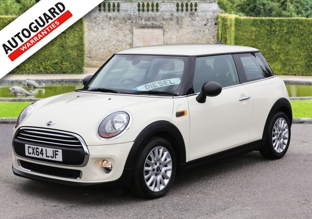 2014 64 MINI HATCH ONE 1.5 ONE D 3d 94 BHP