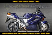 USED 2005 05 HONDA VFR800F 800CC 0% DEPOSIT FINANCE AVAILABLE GOOD & BAD CREDIT ACCEPTED, OVER 500+ BIKES IN STOCK