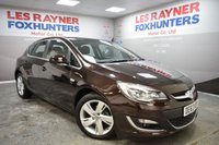 USED 2013 63 VAUXHALL ASTRA 1.6 SRI 5d 113 BHP Low Miles, Park sensors, Cruise control, Full service history