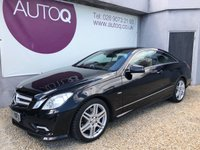 2011 MERCEDES-BENZ E CLASS 3.0 E350 CDI BLUEEFFICIENCY SPORT 2d AUTO 231 BHP £11995.00