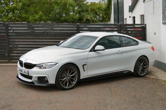 2015 65 BMW 4 SERIES LCI 420D M SPORT 2d AUTO ALPINE WHITE FBMWSH