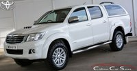 USED 2014 14 TOYOTA HI-LUX 3.0 D-4D INVINCIBLE 4x4 DOUBLE CAB 5-SPEED 169 BHP Finance? No deposit required and decision in minutes.