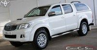 2014 TOYOTA HI-LUX 3.0 D-4D INVINCIBLE 4x4 DOUBLE CAB 5-SPEED 169 BHP £12990.00