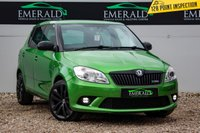USED 2010 10 SKODA FABIA 1.4 VRS DSG 5d AUTO 180 BHP £0 DEPOSIT FINANCE AVAILABLE, AIR CONDITIONING, CLIMATE CONTROL, CRUISE CONTROL, DAYTIME RUNNING LIGHTS, DSG AUTOMATIC GEARBOX, REAR PARKING SENSORS, STEERING WHEEL CONTROLS, TRIP COMPUTER