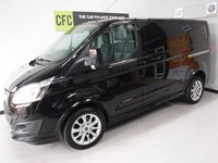 2014 FORD TRANSIT CUSTOM 2.2 290 SPORT LR P/V 1d 153 BHP £14000.00