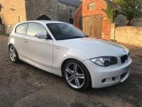 2011 BMW 1 SERIES 2.0 118D M SPORT 3d  £7495.00