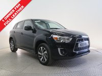 USED 2015 15 MITSUBISHI ASX 1.6 3 5d 115 BHP LEATHER ***1 Owner, Full service History, serviced in June 2016 at 2,811 miles, June 2017 at 4,799 miles and in August 2018 at 8,351 miles. Mitsubishi Warranty until June 2020. MOT until March 2019. Privacy Glass,  Heated Leather Seats, Parking Sensors, Bluetooth, Air Conditioning, Alloys. Nationwide Delivery Available. Finance Available at 9.9% APR Representative.***