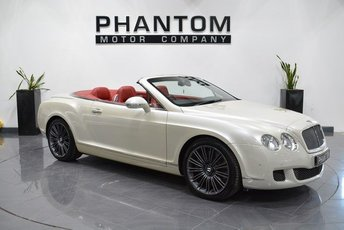 2009 BENTLEY CONTINENTAL 6.0 GTC SPEED 2d AUTO 601 BHP £54990.00