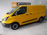 USED 2014 14 FORD TRANSIT CUSTOM 2.2 310 LR P/V 1d 124 BHP AMAZING CONDITION WITH ELEC WINDOWS, REMOTE CENTRAL LOCKING, RADIO CD, ALLOY WHEELS,ELEC FOLDING MIRRORS, VOICE COMMAND, AUTO HEAD LAMPS, CRUISE CONTROL, , MULTI  FUNCTION STEERING WHEEL, PARKING SENSORS, FRONT FOG LAMPS, REAR TAIL GATE  for more Information Please Call Now on 0151525 4400,  07967141248. Family Run Business