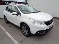 USED 2016 16 PEUGEOT 2008 1.2 PURETECH ACTIVE 5d 82 BHP MANUFACTURERS WARRANTY UNTIL 22/06/2019 BLUETOOTH CRUISE CONTROL ALLOY WHEELS £30 ROAD TAX