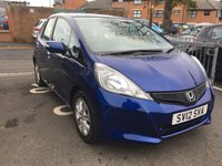 USED 2012 12 HONDA JAZZ 1.3 I-VTEC ES 5d AUTO 98 BHP GREAT SPECIFICATION INCLUDING CLIMATE CONTROL. ALLOY WHEELS, AND FULL HISTORY!..CHEAP TO RUN , LOW CO2 EMISSIONS(125G/KM), LOW ROAD TAX, AND FULL HISTORY!..ONLY 18589 MILES FROM NEW AND FULL HISTORY!