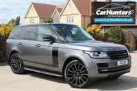 USED 2015 65 LAND ROVER RANGE ROVER 3.0 TDV6 AUTOBIOGRAPHY 5d AUTO 255 BHP PAN ROOF 360 CAMERA'S BLACK PACK