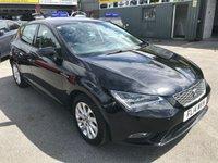 2014 SEAT LEON 1.2 TSI SE TECHNOLOGY 5 DOOR 105 BHP IN BLACK WITH 45000 MILES £7699.00