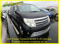 2006 NISSAN ELGRAND Rider Autec 3.5 Automatic 8 Seats Full Leather £8500.00