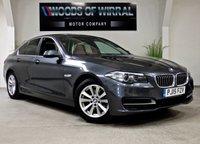 2015 BMW 5 SERIES 2.0 520D SE 4d AUTO 188 BHP £13780.00