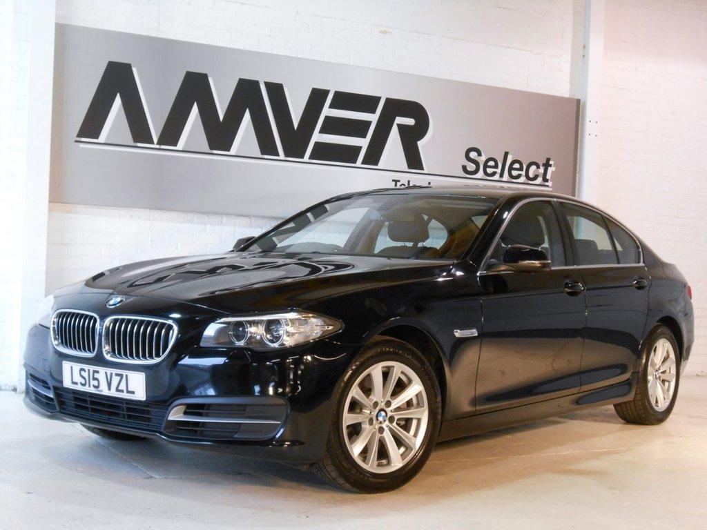 USED 2015 15 BMW 5 SERIES 2.0 520D SE 4d AUTO 188 BHP