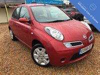 USED 2008 58 NISSAN MICRA 1.2 ACENTA 5d AUTO 80 BHP Low Mileage Automatic with FSH petrol 5 door