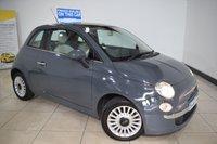 2012 FIAT 500 1.2 LOUNGE 3d 69 BHP £4895.00