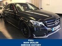 2015 MERCEDES-BENZ C CLASS 2.1 C220 BLUETEC AMG LINE PREMIUM PLUS 4d AUTO 170 BHP £SOLD