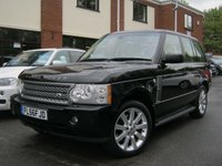USED 2006 56 LAND ROVER RANGE ROVER 4.2 V8 SUPERCHARGED 5d AUTO 391 BHP