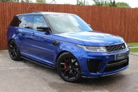 USED 2018 18 LAND ROVER RANGE ROVER SPORT 5.0 SVR 5d AUTO 567 BHP