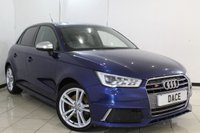 USED 2014 64 AUDI S1 2.0 S1 QUATTRO SPORTBACK 5DR 228 BHP HALF LEATHER SEATS + BLUETOOTH + CLIMATE CONTROL + MULTI FUNCTION WHEEL + 17 INCH ALLOY WHEELS
