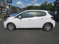 USED 2016 65 PEUGEOT 208 1.2 ACTIVE 5d 82 BHP Under Manufacturer Warranty.  1 Owner.  Low Tax