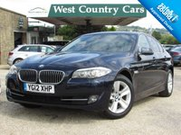 USED 2012 12 BMW 5 SERIES 2.0 520D EFFICIENTDYNAMICS 4d 181 BHP Well Equipped Executive Saloon