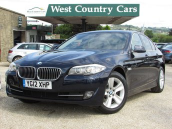 2012 BMW 5 SERIES 2.0 520D EFFICIENTDYNAMICS 4d 181 BHP £10000.00