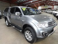"""USED 2014 64 MITSUBISHI L200 2.5 DI-D 4X4 BARBARIAN LB DCB AUTO 175 BHP -NO VAT TO PAY- """"YOU'RE IN SAFE HANDS"""" - AA DEALER PROMISE"""