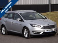 USED 2017 66 FORD FOCUS 1.5 ZETEC TDCI 5d 118 BHP
