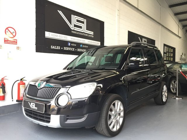 2011 11 SKODA YETI 1.8 ELEGANCE TSI 4WD 5d 160 BHP Full Leather