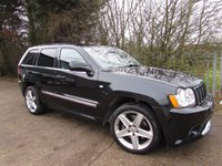 2006 JEEP GRAND CHEROKEE SRT8 6.1 SRT8 5d AUTO 420 BHP £12995.00