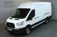 USED 2014 64 FORD TRANSIT 2.2 350 H/R 124 BHP LWB L4 H3 JUMBO PANEL VAN ONE OWNER FROM NEW / SPARE KEY