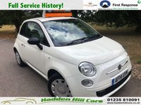 2014 FIAT 500 1.2 POP 3d 69 BHP £5195.00