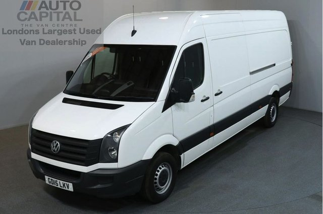 2015 15 VOLKSWAGEN CRAFTER 2.0 CR35 TDI H/R P/V 5d 161 BHP LWB HIGH ROOF DIESEL PANEL MANUAL VAN ONE OWNER SPARE KEY MUST SEE