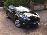 2009 FORD FIESTA 1.4 TITANIUM 5d 96 BHP PLEASE CALL TO VIEW £4650.00