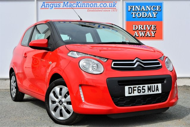 2016 65 CITROEN C1 1.0 FEEL Lovely Economical to run Petrol 3dr Hatchback