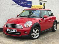 2010 MINI HATCH COOPER 1.6 COOPER 3d 122 BHP £5495.00