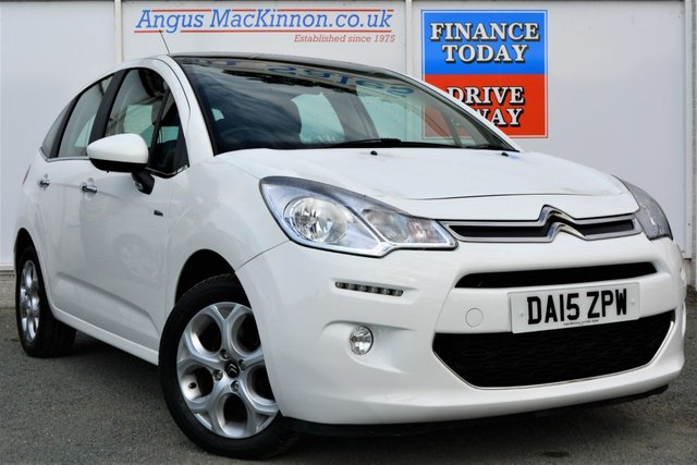 2015 15 CITROEN C3 1.2 EXCLUSIVE Petrol Great Looking 5d Family Hatchback in White